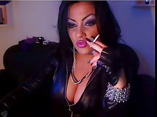 Smoking & Leather Fetish