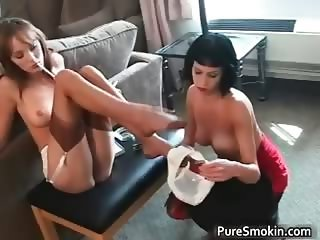 Charlie and Jaqueline lesbo Fantasy part4