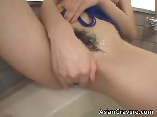 Big tits real asian Nayuka gets her part2