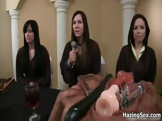 Hot babes in college sex party and real part2