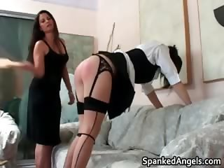 Naughty schoolgirl with pig tails gets part1