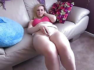 Stepsister gives masturbation instructions