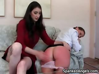 Hot sexy brunette nasty girl gets her part6