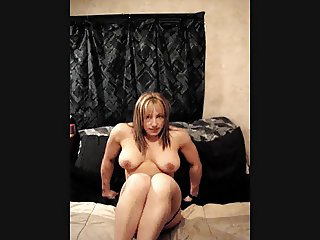 Muscle Chick, Dildo, Fat Pussy