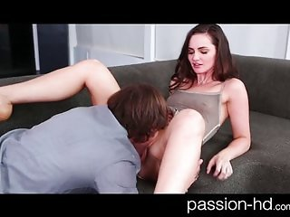 Petite young coed fucked