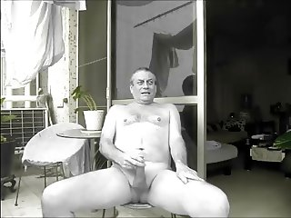 A Neighbour watches me wank naked