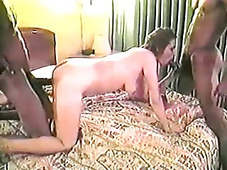 Slut Housewife Fucks Tony Duncan & Another Bro