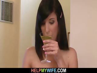 Older hubby invites him for cuckolding