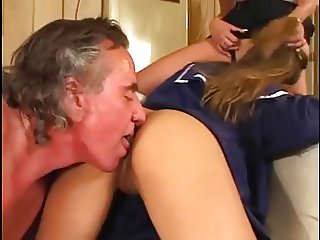 Asian Babysitter Gets Caught By The Wife
