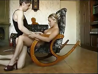 Homemade fucking with a hot blonde chic