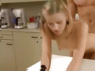 sister fuck in kitchen
