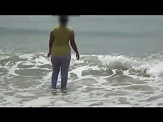 desi bhabhi on beach....