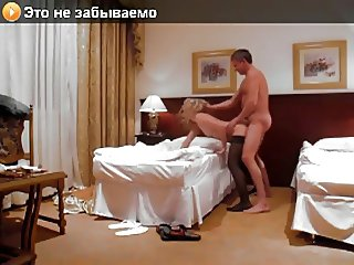 Amateur Hotel Sex. Ukrainian Model With Old Russian Daddy.