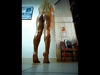my sexy oiled ass and legs 1