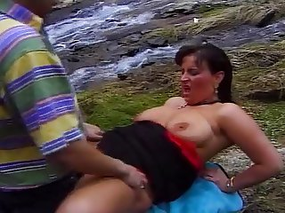 Busty Milf-Reality in the Spanish Mountains