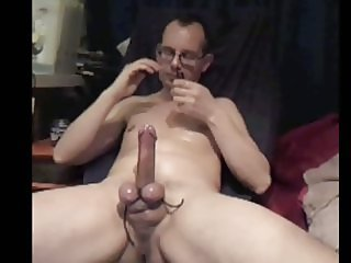 Tied up cock 'n balls
