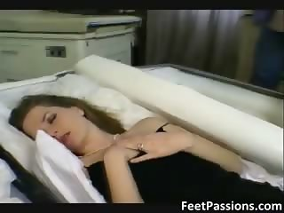 Sexy brunette hoe gets her tight part3
