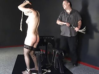Beauvoir tied and punished