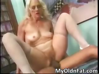 Busty blonde MILF whore gets fucked part4
