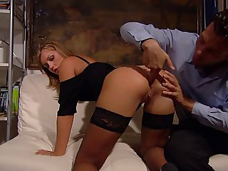 Hot italian Lady in double penetration