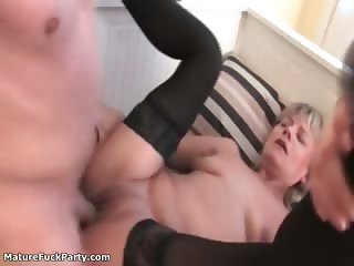 Nasty mature sluts go crazy part3