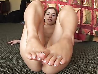 Footjob Tryout