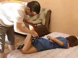 Amateur Tied and Tickled