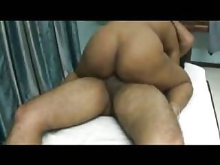 Indian cuckold watching his wife fucked