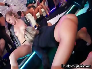 Horny nasty sluts go crazy getting their part4
