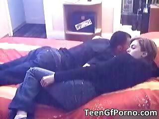 Hot amateur couple having fun on couch part6