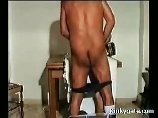 Spanking my Cock worshipping Sub Wife Gina
