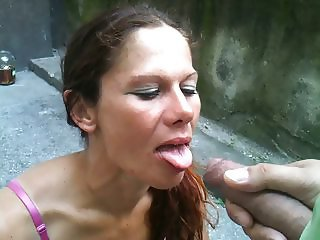 Cum on face for 10 euro