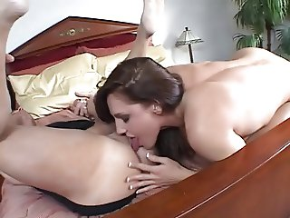 Lauren Phoenix ass lick and anal