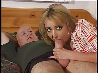 Horny slut in hardcore action