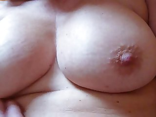 Nipple play, stroking and fucking