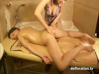 Rita Ulyanova - virgin massage