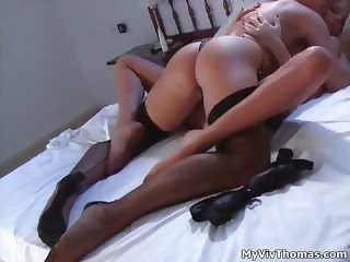 Sexy blonde lesbians get horny making part3