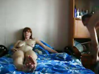 Amateur  fucked on homemade