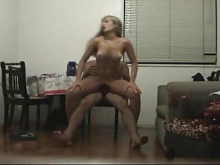 Blonde MILF filmed cheating