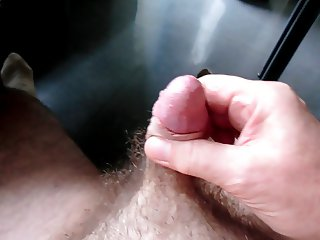 cumshot while watching live videos