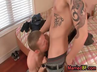 Married man gets his very first gay part1