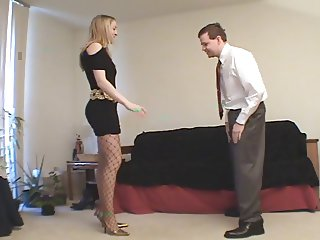 Crysta - Pump and Heels Ballbusting