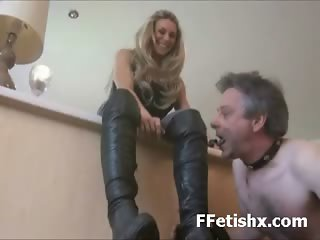 Foot Fetish Dominated Woman Long Leg Adored
