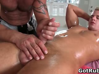 Guy gets best gay massage every part5