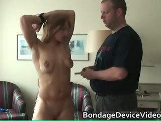 Very hot sexy horny blonde chick gets part5