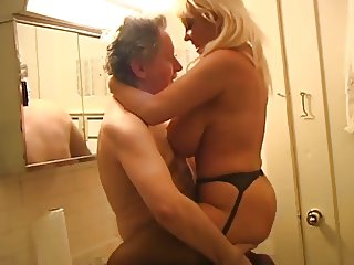 Busty MILF gets fucked