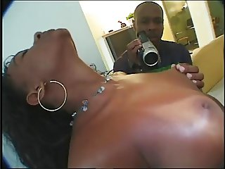 Stunning Tanned Ebony from Rio in hot sex