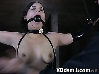 Bdsm Babe In Sadomaniac Fetish Sex