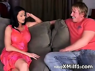 Creamy Cougar Screwed And Licked Wild