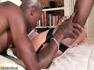 Black guy having horny sex with a horny part4